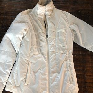 Women's Columbia Winter Jacket// White XS